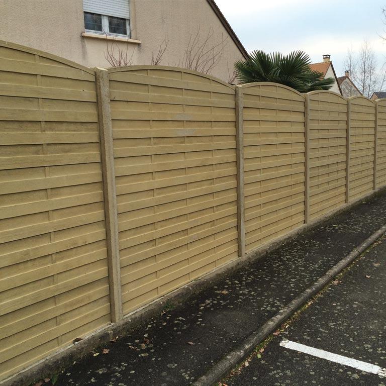 Aménagement paysagiste clôture le mans