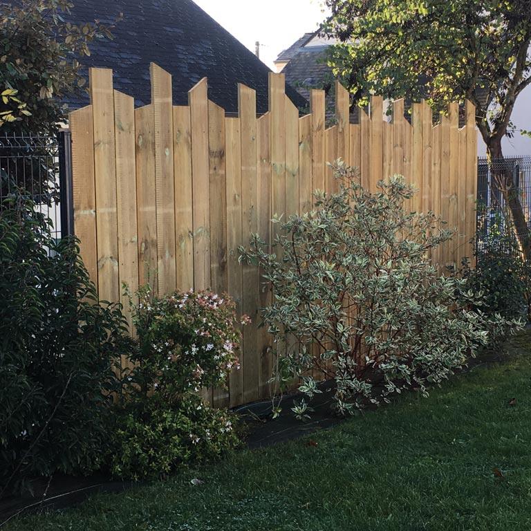 Pose clôtures paysagiste Sarthe